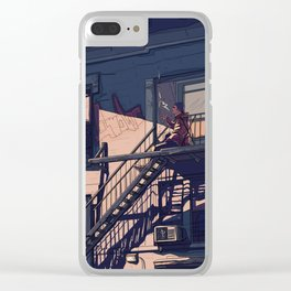 Over it goes Clear iPhone Case