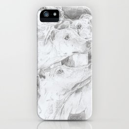 Shadow Dogs iPhone Case
