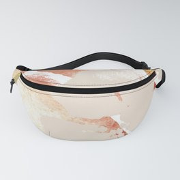 Ebb and Flow Abstract Shapes Fanny Pack