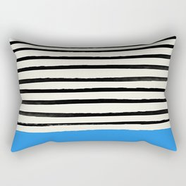 Ocean x Stripes Rectangular Pillow