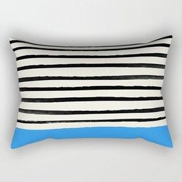 Ocean x Stripes Rectangular Pillow