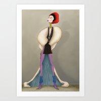 Marcia Art Print