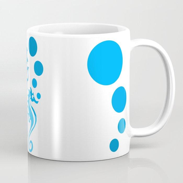 Seahorse Bubble Coffee Mug