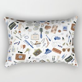 Girly Objects Rectangular Pillow
