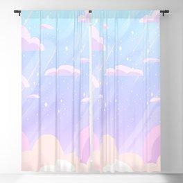 Pastel Heaven Blackout Curtain