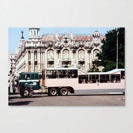 Teatro de la Havana Cuba Canvas Print