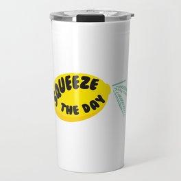 Squeeze The Day Lemon Travel Mug