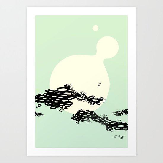 Sea Swallow Me Art Print