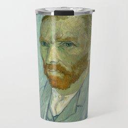 "Vincent van Gogh ""Self-portrait"" (1) Travel Mug"