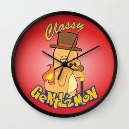 Classy fire Wall Clock
