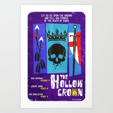The Hollow Crown Art Print