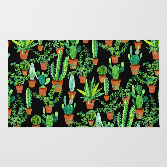 Cacti Rug