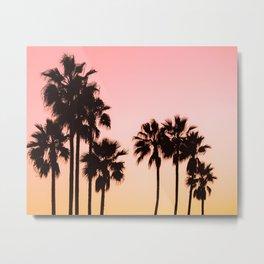 Tropical Vibes Metal Print
