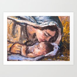 Natividad Art Print