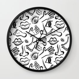 Face It, I'm All Mixed Up Wall Clock