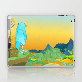 """The Journey Begins (from the book, """"You, the Magician"""") Laptop & iPad Skin"""