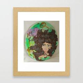 Gloria Framed Art Print