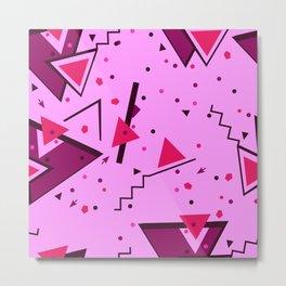Pink Error Metal Print