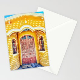 Door (Zequentic, Chiapas, Mexico) Stationery Cards