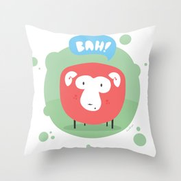 Bah! Throw Pillow