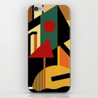 kandinsky iPhone & iPod Skins featuring THE GEOMETRIST by THE USUAL DESIGNERS