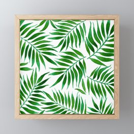 FOLIAGE WATERCOLOR Framed Mini Art Print