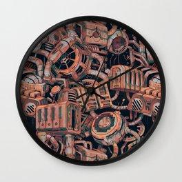 Forgotten Machines Wall Clock