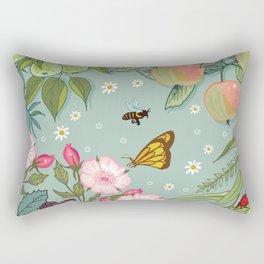 Orchard Fruits Rectangular Pillow