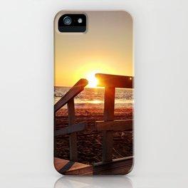 "Redondo Beach ""Life Guard Tower 1"" iPhone Case"