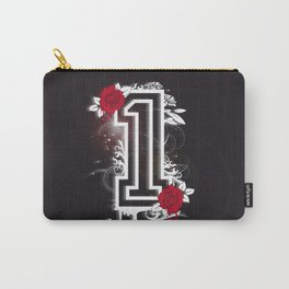 number ONE with roses Carry-All Pouch