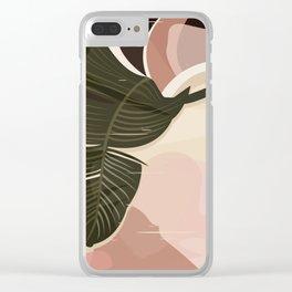 Nomade I. Illustration Clear iPhone Case