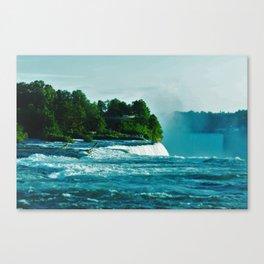 A Misty Morning Canvas Print