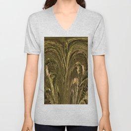 Rustig Nature Texture Unisex V-Neck