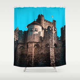 Gravensteen Ghent Castle Shower Curtain