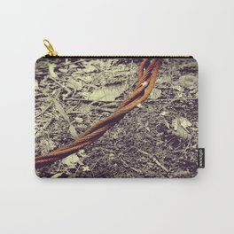 Rusted Bloom Carry-All Pouch