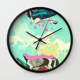 GHOST HORSE Wall Clock