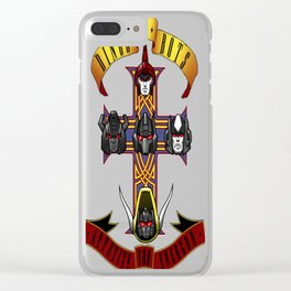 Dinos & Bots Clear iPhone Case