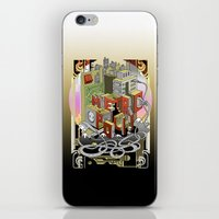metropolis iPhone & iPod Skins featuring Metropolis  by KRNago
