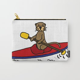 Adorable sea otter ka Carry-All Pouch