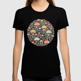 Spring Hedgehog Forest T-shirt