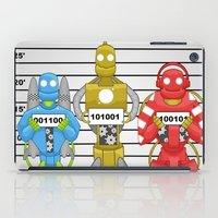 robots iPad Cases featuring Robots by charlie usher