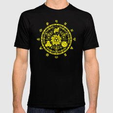 Legend Of Zelda  Black MEDIUM Mens Fitted Tee
