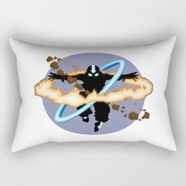 Aang going into uber Avatar state Rectangular Pillow