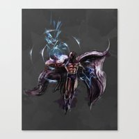 magneto Canvas Prints featuring Magneto  by Bigcookben