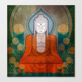 My Buddy Buddha Canvas Print