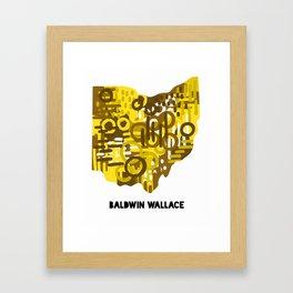 Baldwin Wallace Framed Art Print