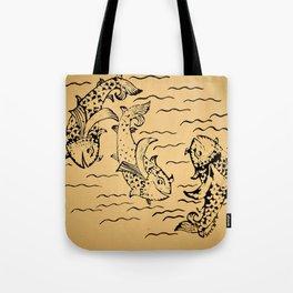 Dancing Fish 2 Tote Bag