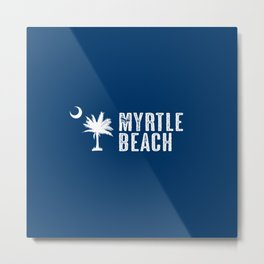 Myrtle Beach, South Carolina Metal Print