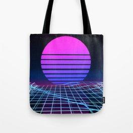 Vapor Wave Classic Tote Bag