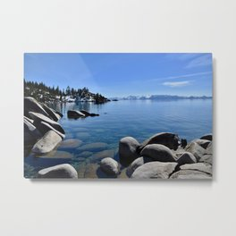 Sand Harbor, Lake Tahoe Metal Print